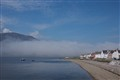 Sea fog at Ullapool