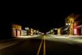 Midnight on Main Street in Turkey Texas