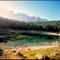 Green Lake. Dolmites  Bolzano challenge