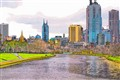 Yarra river and Melbourne