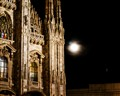 Duomo's Full Moon