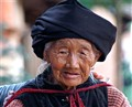 Old woman in Sideng (China)