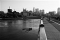 Downtown Minneapolis from the Stone Arch Bridge