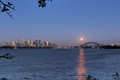 Full Moon over Sydney yesterday. Native Americans named May's full moon the Full Flower Moon.