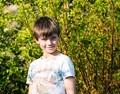 human child in my garden