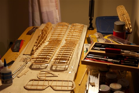 DH-4 in progress