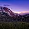 Mammoth Lakes California Sunset