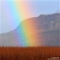 Binevenagh Rainbow, Northern Ireland