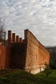 Defensive wall. Smolensk. Russia