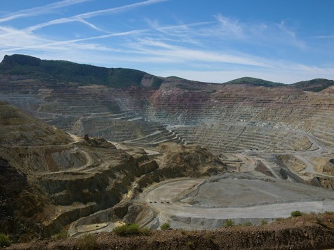 Santa Rita Copper Mine