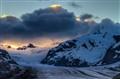 Jungfrauenjoch in evenng light (HDR)
