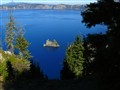 Crater Lake's ship island
