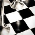B&W Diner Floor