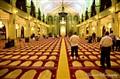 Muslim praying at Masjid Sultan