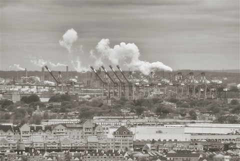 Steam New Jersey Sunday morning 1 V1-3313 CEP4 SEP BW sepia