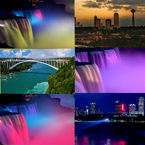 Niagara Falls Collage