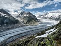 Aletsch Glacier, above Bettmeralp, Switzerland