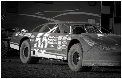 Michael Waltrips car at Castrol Raceway