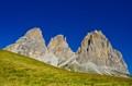 Sassolungo & Sassopiatto Mountains, Dolomites, Italy