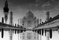 Magnificent reflection of Taj Mahal
