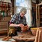 Pottery Artist, Myshkin, Yaroslavl Oblast, Russia: Pottery Artist, Myshkin, Yaroslavl Oblast, Russia October 2018