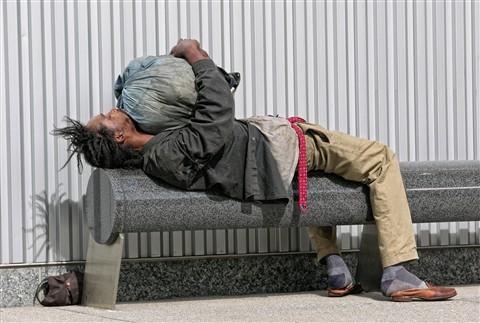 homeless nap