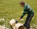 boy woodchopping compo