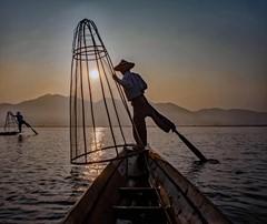 Early Fishing on Inle Lake