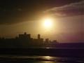 Sunset over Malecon (Cuba)