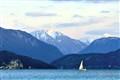 Sailing through the Alps