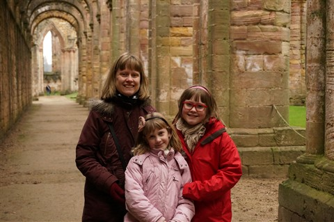 Fountains Abbey + Family