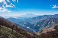Mount Fuji as seen from Mount Tanzawa on a day hike in Japan