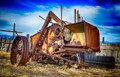 Antelope Island farm machine