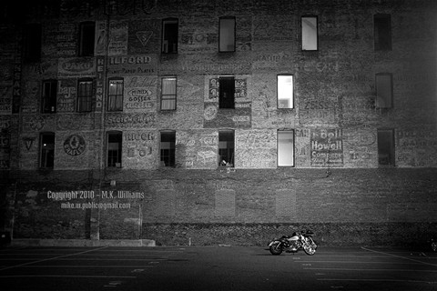 Old Wall and Bikes 2 for JPG - 1000