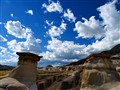 The Hoodoos of Drumheller Alberta
