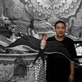 Liu Bin...third generation master kitemaker in Beijing
