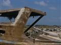 Boat stranded