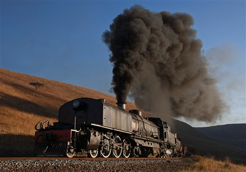 Beyer-Garret articulated steam locomotive