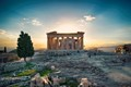 Parthenon At Sunset