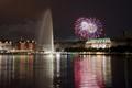 Hamburg Dom Fireworks