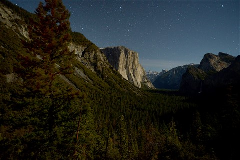 El Cap in Moonlight