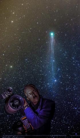 Comet Lovejoy Andromeda Marks Camera on Telescope DSC3857-1a-blue-light-increase-layer-Nov 20 2015