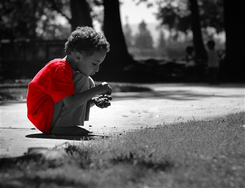 Boy-selective color