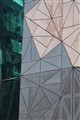 An aspect of the Federation Square buildings, Melbourne, Australia