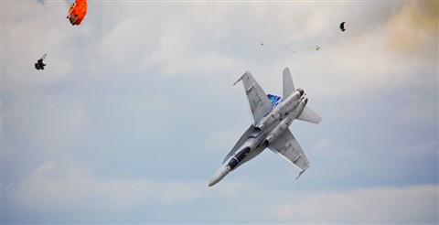 CF-18 Ejection