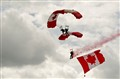 The SkyHawks Parachute Team