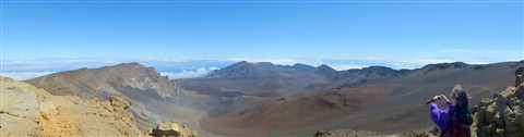P1010284 Panorama of Haleakala Crater