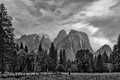 Yosemite Valley Floor B&W