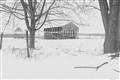 winter silo