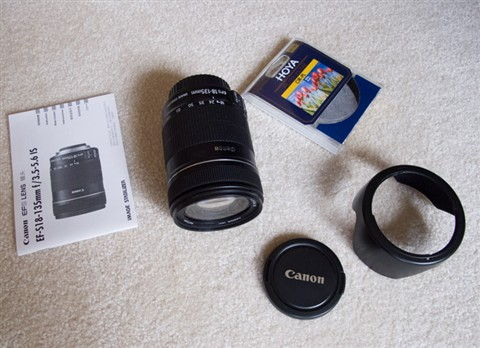 Canon Zoom Lens EF-S 18-135 mm----